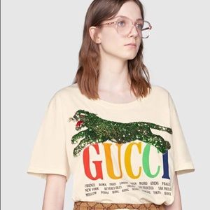 New Gucci woman's T-shirt
